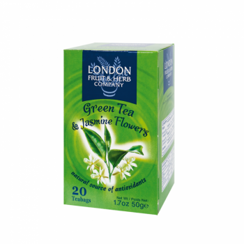 Čaj London Fruit and Herb Green Tea with Jasmine