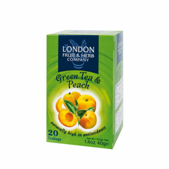 Čaj London Fruit and Herb Green Tea with Peach