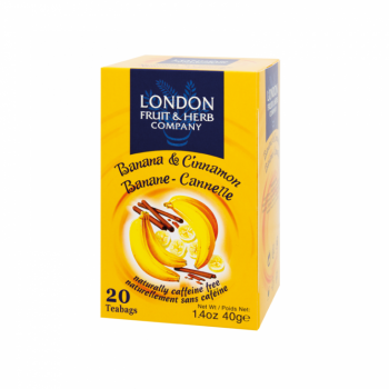 Čaj London Fruit and Herb Banana & Cinnamon