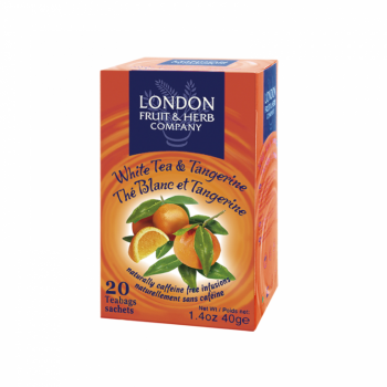 Čaj London Fruit and Herb White Tea & Tangerine