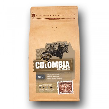 Káva Lizard Coffee Colombia 500 g
