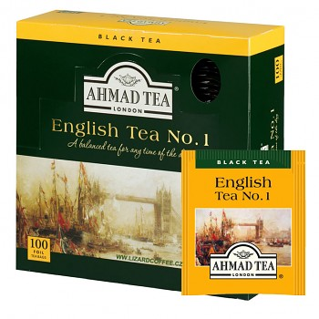 Čaj Ahmad Tea English Tea No.1 100ks ALU