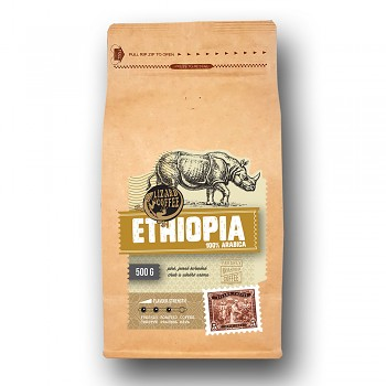 Káva Lizard Coffee Ethiopia 500gr.