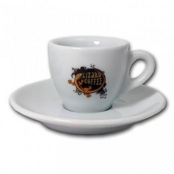 Káva Lizard Coffee - Espresso šálek a podšálek