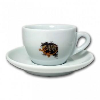 Káva Lizard Coffee - Cappuccino šálek a podšálek