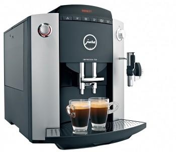 předplatné kávy s kávovarem JURA Ipressa F50 ECO + minichladnička