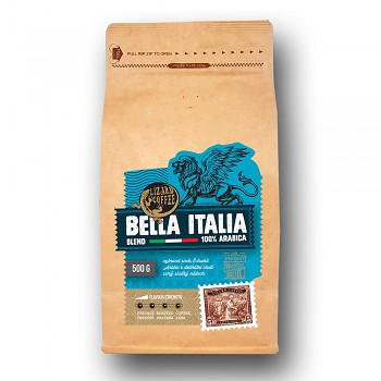 Káva Lizard Coffee Bella Italia 500gr.