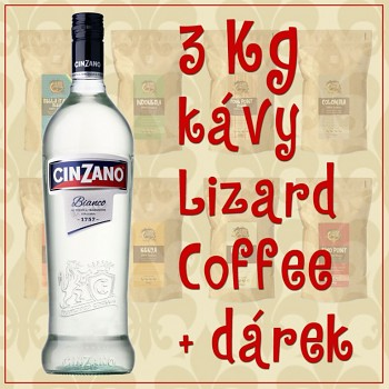 Kva Lizard Coffee ti kilogramy s drkem