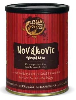 Vlastní čerstvě pražená káva Lizard Coffee