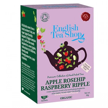 Čaj ETS Apple Rosehip Raspberry Ripple