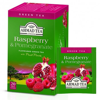 Čaj Ahmad Tea Raspberry & Pomegranate