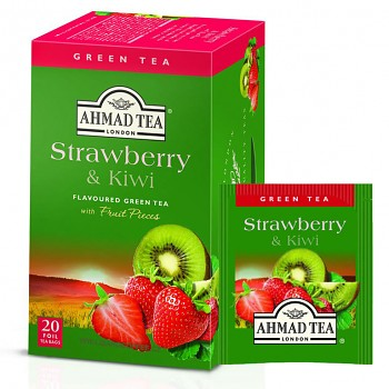 Čaj Ahmad Tea Strawberry & Kiwi
