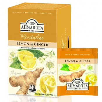 Čaj Ahmad Tea Lemon Ginger