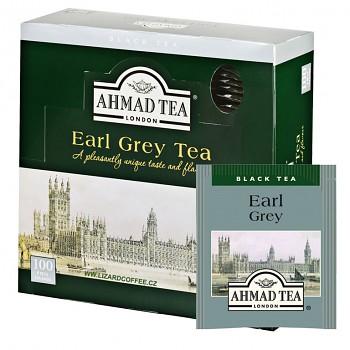 Čaj Ahmad Tea Earl Grey balení 100ks ALU