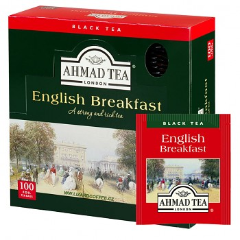 Čaj Ahmad Tea English Breakfast balení 100ks ALU