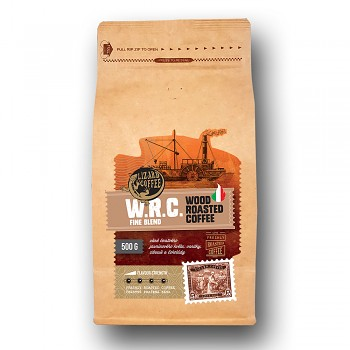 Káva Lizard Coffee W.R.C. - Wood roasted coffee 500 g