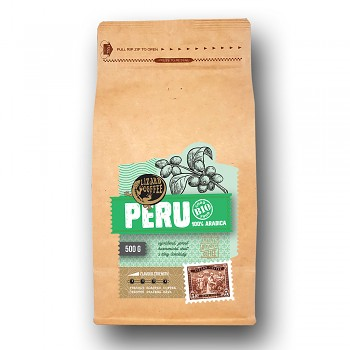 Káva Lizard Coffee PERU 500 g
