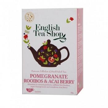 Čaj ETS Pomegranate, Rooibos & Acai Berry