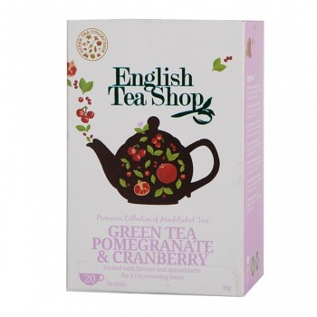 aj ETS Green Tea Pomegranate &amp; Cranberry