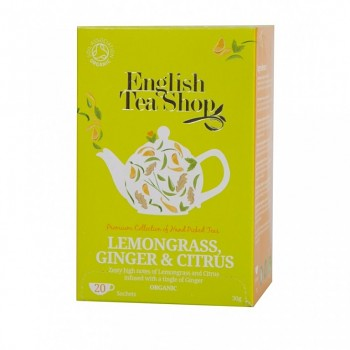 Čaj ETS Lemon grass, Ginger & Citrus