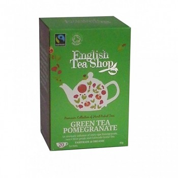 aj ETS Green Tea Pomegranate