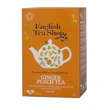 Čaj ETS Ginger Peach Tea