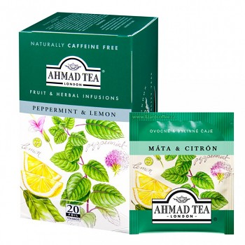Čaj Ahmad Tea Peppermint & lemon
