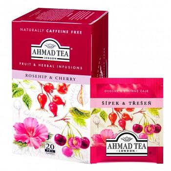 Čaj Ahmad Tea Rosehip & cherry