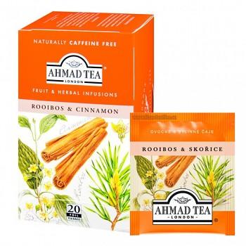 Čaj Ahmad Tea Rooibos & cinnamon