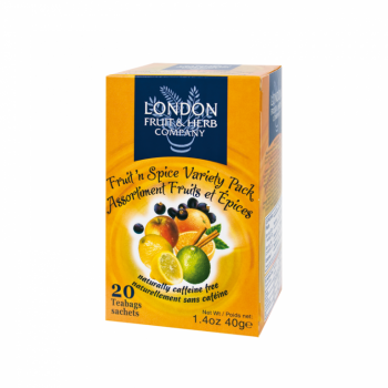 Čaj London Fruit and Herb Fruits & Spices Variety Pack