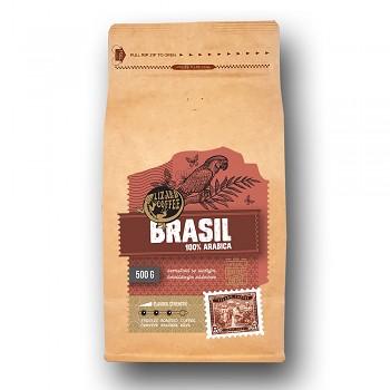 Čerstvě pražená káva Lizard Coffee BRASIL 500 g zrnková