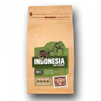 Káva Lizard Coffee Indonesia 500 g