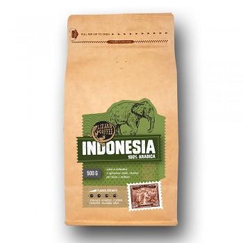 Čerstvě pražená káva Lizard Coffee INDONESIA 500 g zrnková