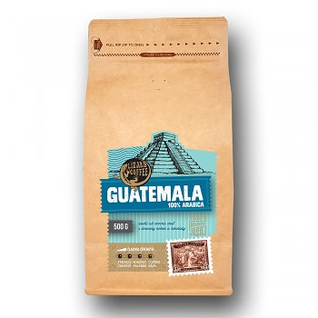 Čerstvě pražená káva Lizard Coffee GUATEMALA 500 g zrnkova